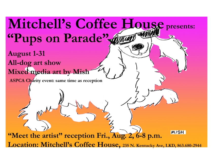 mitchells Flyer-pups on parade