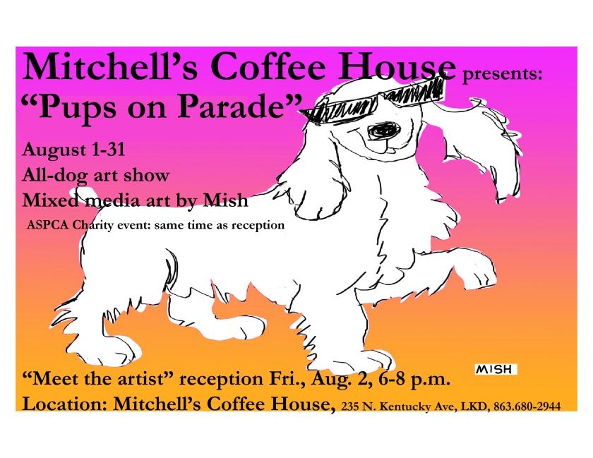 mitchells Flyer-pups on parade